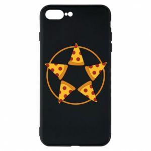 Etui na iPhone 7 Plus Pizza pentagram