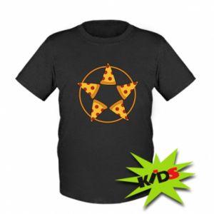 Dziecięcy T-shirt Pizza pentagram