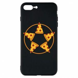 Etui na iPhone 8 Plus Pizza pentagram