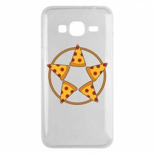 Etui na Samsung J3 2016 Pizza pentagram