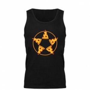 Męska koszulka Pizza pentagram