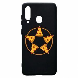 Etui na Samsung A60 Pizza pentagram