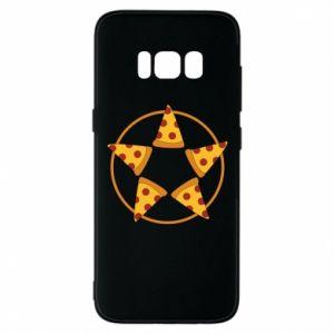 Etui na Samsung S8 Pizza pentagram