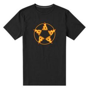 Męska premium koszulka Pizza pentagram