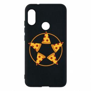 Etui na Mi A2 Lite Pizza pentagram