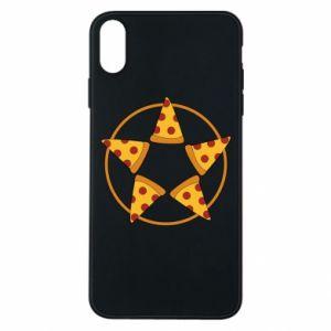 Etui na iPhone Xs Max Pizza pentagram