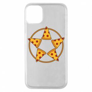 Etui na iPhone 11 Pro Pizza pentagram