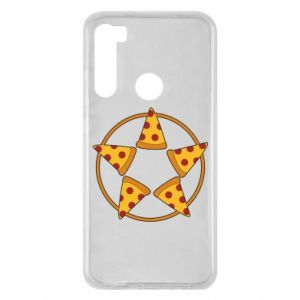Xiaomi Redmi Note 8 Case Pizza pentagram
