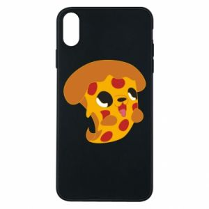 Phone case for iPhone Xs Max Pizza Puppy - PrintSalon