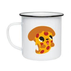 Kubek emaliowany Pizza Puppy