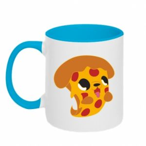 Two-toned mug Pizza Puppy