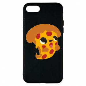 Phone case for iPhone 8 Pizza Puppy - PrintSalon