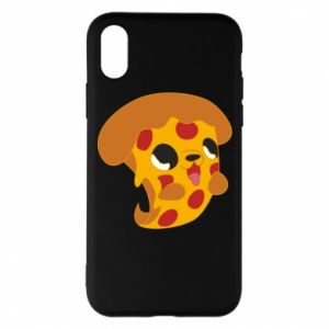 Phone case for iPhone X/Xs Pizza Puppy - PrintSalon