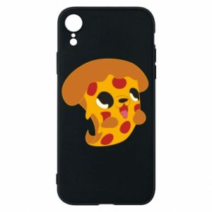 Phone case for iPhone XR Pizza Puppy - PrintSalon