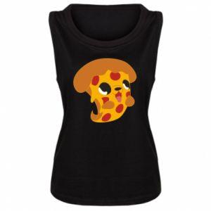 Damska koszulka bez rękawów Pizza Puppy