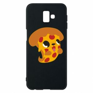 Phone case for Samsung J6 Plus 2018 Pizza Puppy