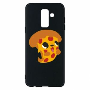 Phone case for Samsung A6+ 2018 Pizza Puppy