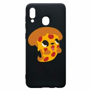 Phone case for Samsung A20 Pizza Puppy
