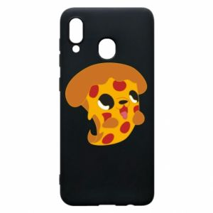 Phone case for Samsung A30 Pizza Puppy