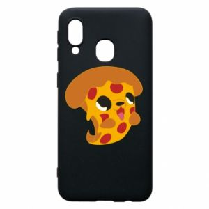 Phone case for Samsung A40 Pizza Puppy