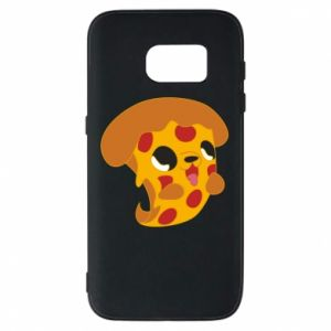 Phone case for Samsung S7 Pizza Puppy