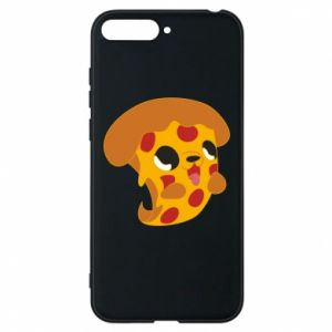 Phone case for Huawei Y6 2018 Pizza Puppy - PrintSalon