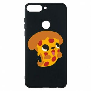 Phone case for Huawei Y7 Prime 2018 Pizza Puppy - PrintSalon