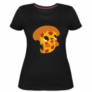 Damska premium koszulka Pizza Puppy