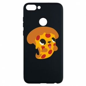 Phone case for Huawei P Smart Pizza Puppy - PrintSalon
