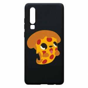 Phone case for Huawei P30 Pizza Puppy - PrintSalon