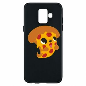 Phone case for Samsung A6 2018 Pizza Puppy