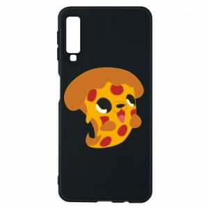 Phone case for Samsung A7 2018 Pizza Puppy