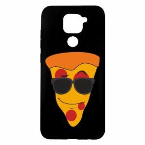 Etui na Xiaomi Redmi Note 9/Redmi 10X Pizza with glasses