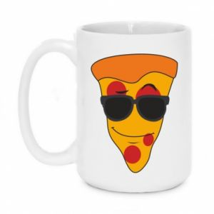 Kubek 450ml Pizza with glasses