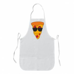 Fartuch Pizza with glasses