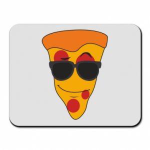 Podkładka pod mysz Pizza with glasses