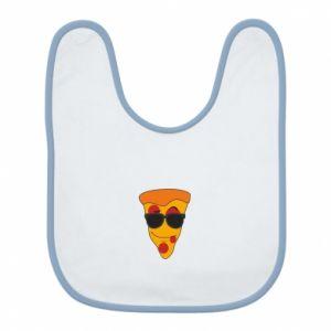Śliniak Pizza with glasses
