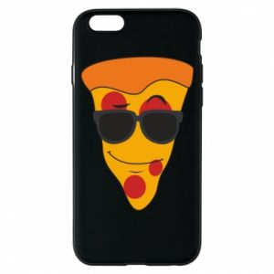 Etui na iPhone 6/6S Pizza with glasses