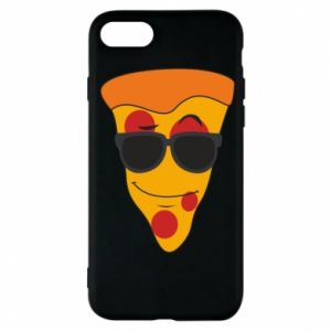 Etui na iPhone 7 Pizza with glasses