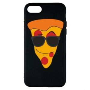 Etui na iPhone 8 Pizza with glasses