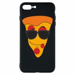 Etui na iPhone 8 Plus Pizza with glasses