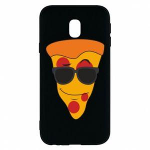 Etui na Samsung J3 2017 Pizza with glasses