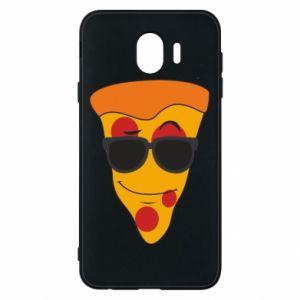 Etui na Samsung J4 Pizza with glasses