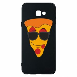 Etui na Samsung J4 Plus 2018 Pizza with glasses