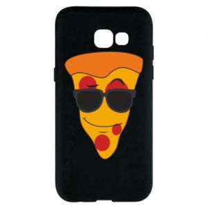 Etui na Samsung A5 2017 Pizza with glasses
