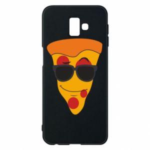 Etui na Samsung J6 Plus 2018 Pizza with glasses