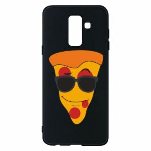 Etui na Samsung A6+ 2018 Pizza with glasses