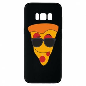 Etui na Samsung S8 Pizza with glasses