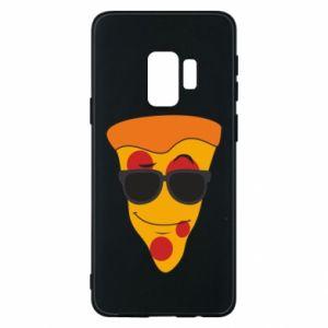Etui na Samsung S9 Pizza with glasses