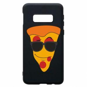 Etui na Samsung S10e Pizza with glasses